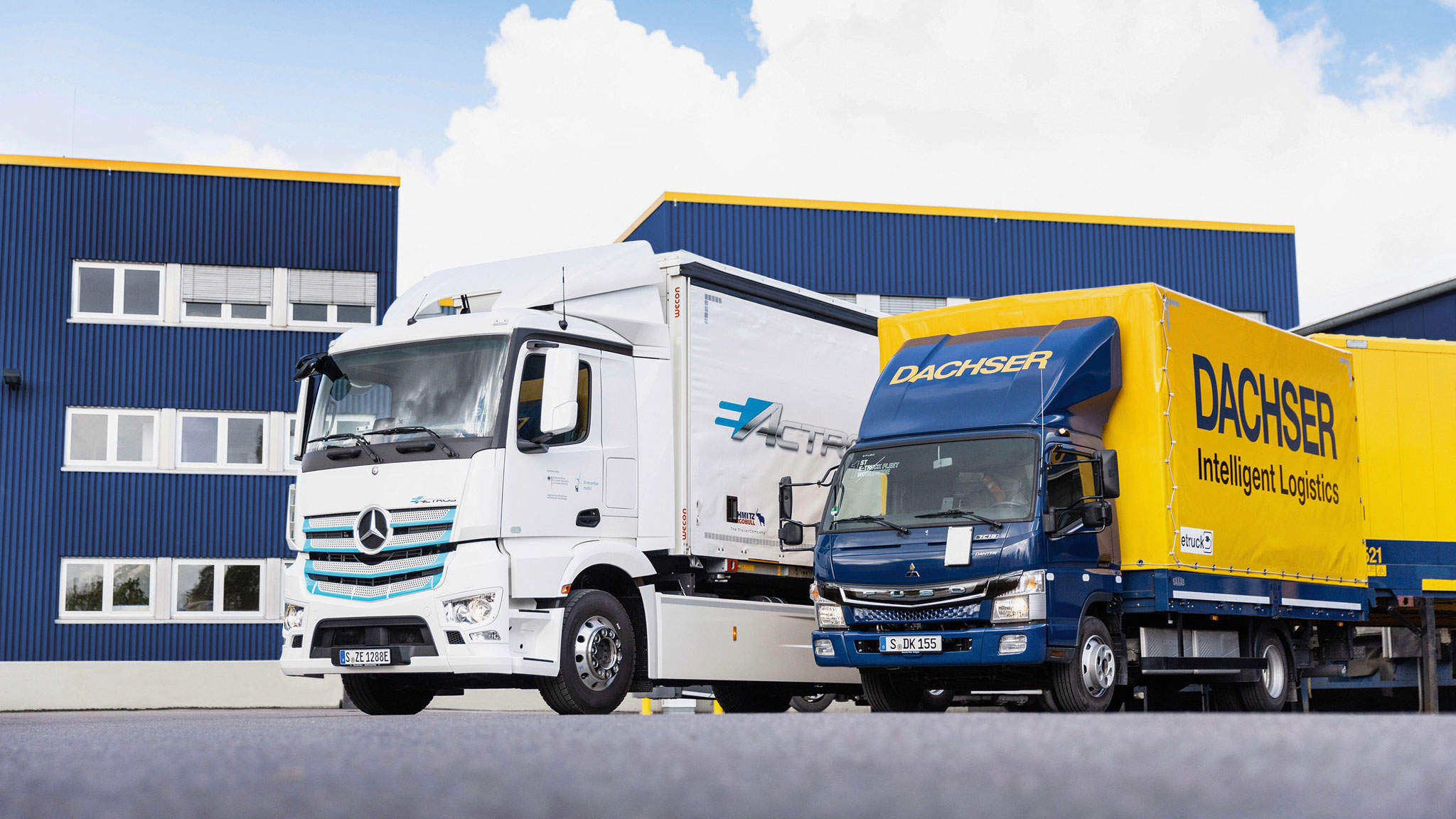 Het testen van elektrische vrachtwagens: The eActros and the eCanter